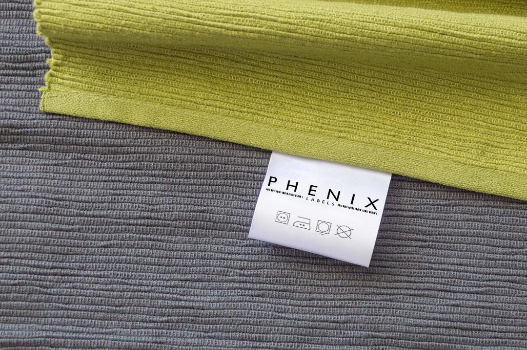 étiquette de composition Phenix Labels